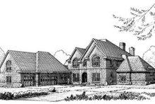 House Design - European Exterior - Front Elevation Plan #410-398