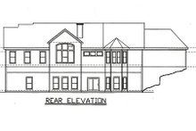 Traditional Exterior - Rear Elevation Plan #405-217