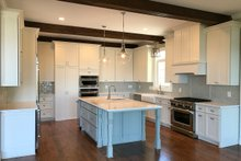 House Plan Design - Farmhouse Interior - Kitchen Plan #437-93