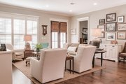 European Style House Plan - 3 Beds 2 Baths 2024 Sq/Ft Plan #430-168 Interior - Family Room