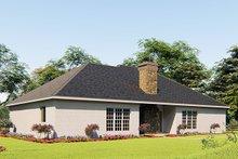 House Plan Design - Craftsman Exterior - Rear Elevation Plan #923-156