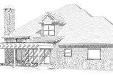 Home Plan - European Exterior - Rear Elevation Plan #63-347