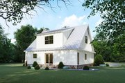 Cottage Style House Plan - 3 Beds 2.5 Baths 1957 Sq/Ft Plan #923-118 Exterior - Rear Elevation