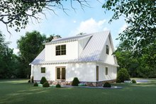 Cottage Exterior - Rear Elevation Plan #923-118