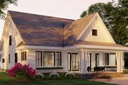 Farmhouse Style House Plan - 4 Beds 3.5 Baths 3146 Sq/Ft Plan #51-1168 Exterior - Rear Elevation