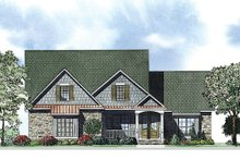 House Plan Design - European Exterior - Front Elevation Plan #17-2414