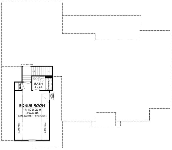 Farmhouse Floor Plan - Other Floor Plan #430-235