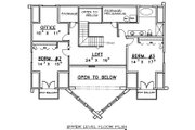 Log Style House Plan - 3 Beds 2.5 Baths 2870 Sq/Ft Plan #117-507 Floor Plan - Upper Floor Plan