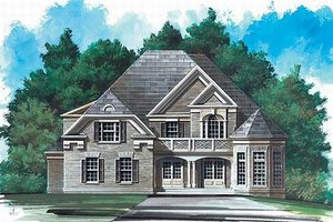 Home Plan Design - European Exterior - Front Elevation Plan #119-141