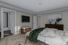 Traditional Interior - Master Bedroom Plan #1060-58