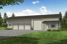 Home Plan - Traditional Exterior - Front Elevation Plan #124-659