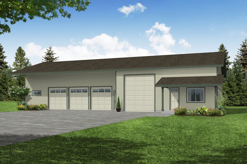 Dream House Plan - Traditional Exterior - Front Elevation Plan #124-659