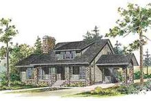 Country Exterior - Front Elevation Plan #72-230