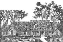 Traditional Exterior - Front Elevation Plan #310-626
