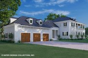 Classical Style House Plan - 3 Beds 2.5 Baths 5971 Sq/Ft Plan #930-526 Exterior - Rear Elevation