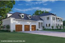 House Plan Design - Classical Exterior - Rear Elevation Plan #930-526