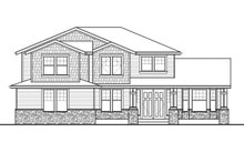 Architectural House Design - Traditional Exterior - Front Elevation Plan #569-39