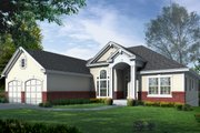Traditional Style House Plan - 4 Beds 4 Baths 2141 Sq/Ft Plan #112-126