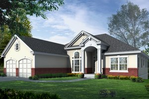 Traditional Exterior - Front Elevation Plan #112-126