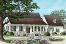 Farmhouse Exterior - Front Elevation Plan #137-122