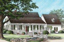 Architectural House Design - Farmhouse Exterior - Front Elevation Plan #137-122