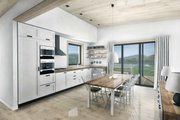 Cabin Style House Plan - 2 Beds 2 Baths 1230 Sq/Ft Plan #924-2 Interior - Kitchen