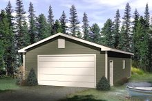House Plan Design - Traditional Exterior - Front Elevation Plan #22-549