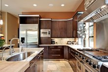 Dream House Plan - Modern Interior - Kitchen Plan #132-221