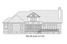 Traditional Exterior - Rear Elevation Plan #1054-61
