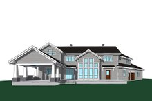 Architectural House Design - Traditional Exterior - Rear Elevation Plan #23-2311