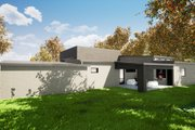 Contemporary Style House Plan - 3 Beds 2.5 Baths 2154 Sq/Ft Plan #923-53