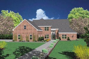 Traditional Exterior - Front Elevation Plan #36-226