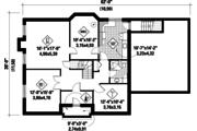 European Style House Plan - 4 Beds 3 Baths 4273 Sq/Ft Plan #25-4665