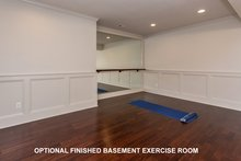 House Plan Design - Optional Exercise Room