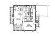 Beach Style House Plan - 3 Beds 4 Baths 2590 Sq/Ft Plan #536-5 Floor Plan - Upper Floor
