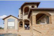 Prairie Style House Plan - 4 Beds 4.5 Baths 3716 Sq/Ft Plan #80-198 Exterior - Rear Elevation