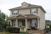 Colonial Style House Plan - 3 Beds 2 Baths 1352 Sq/Ft Plan #23-261