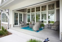 Farmhouse Exterior - Outdoor Living Plan #928-14