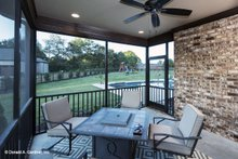 Home Plan - Traditional Exterior - Outdoor Living Plan #929-924