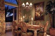 Mediterranean Style House Plan - 4 Beds 3 Baths 2908 Sq/Ft Plan #930-14 Interior - Dining Room