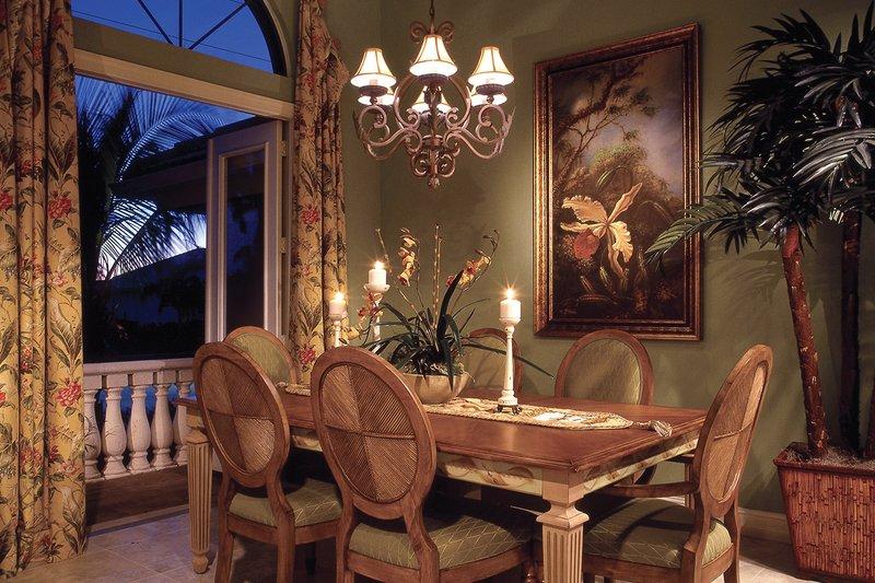 Mediterranean Interior - Dining Room Plan #930-14 - Houseplans.com