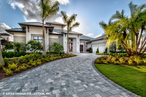 Home Plan - Contemporary Exterior - Other Elevation Plan #930-513