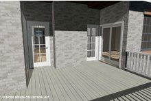 Dream House Plan - Country Exterior - Outdoor Living Plan #930-514