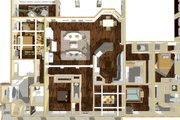 Craftsman Style House Plan - 4 Beds 3.5 Baths 2818 Sq/Ft Plan #44-186 Interior - Other