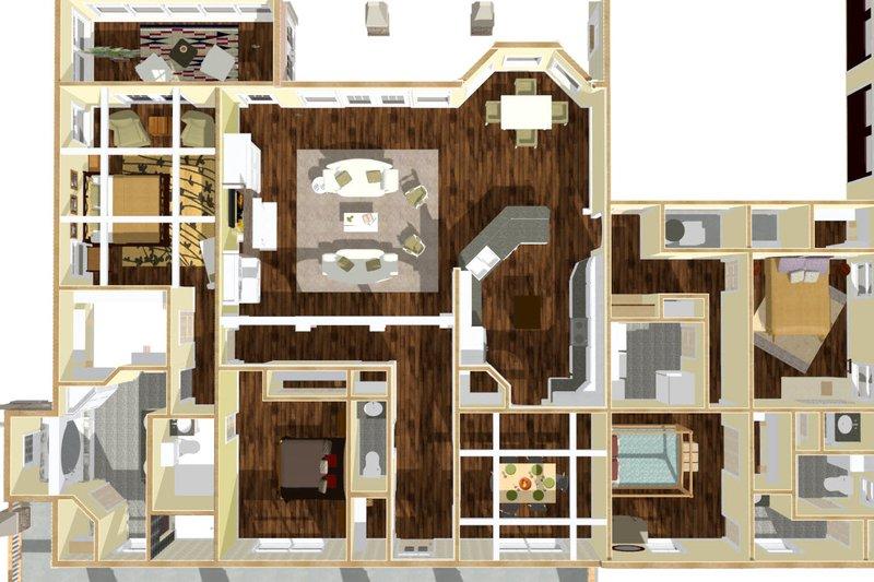Craftsman Interior - Other Plan #44-186 - Houseplans.com
