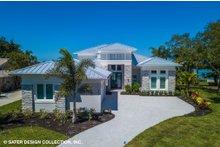 Architectural House Design - Modern Exterior - Front Elevation Plan #930-519