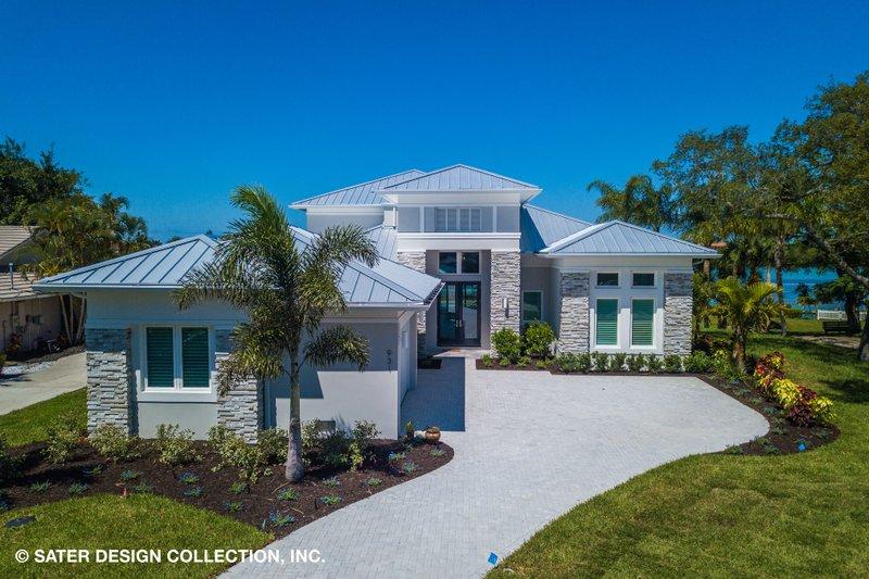 House Plan Design - Modern Exterior - Front Elevation Plan #930-519
