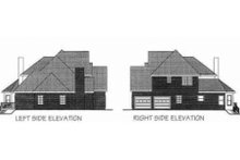 European Exterior - Other Elevation Plan #56-204