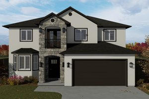 House Design - Traditional Exterior - Front Elevation Plan #1060-7