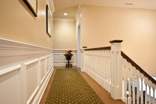Architectural House Design - Upstairs Hallway - 3500 square foot Country Home